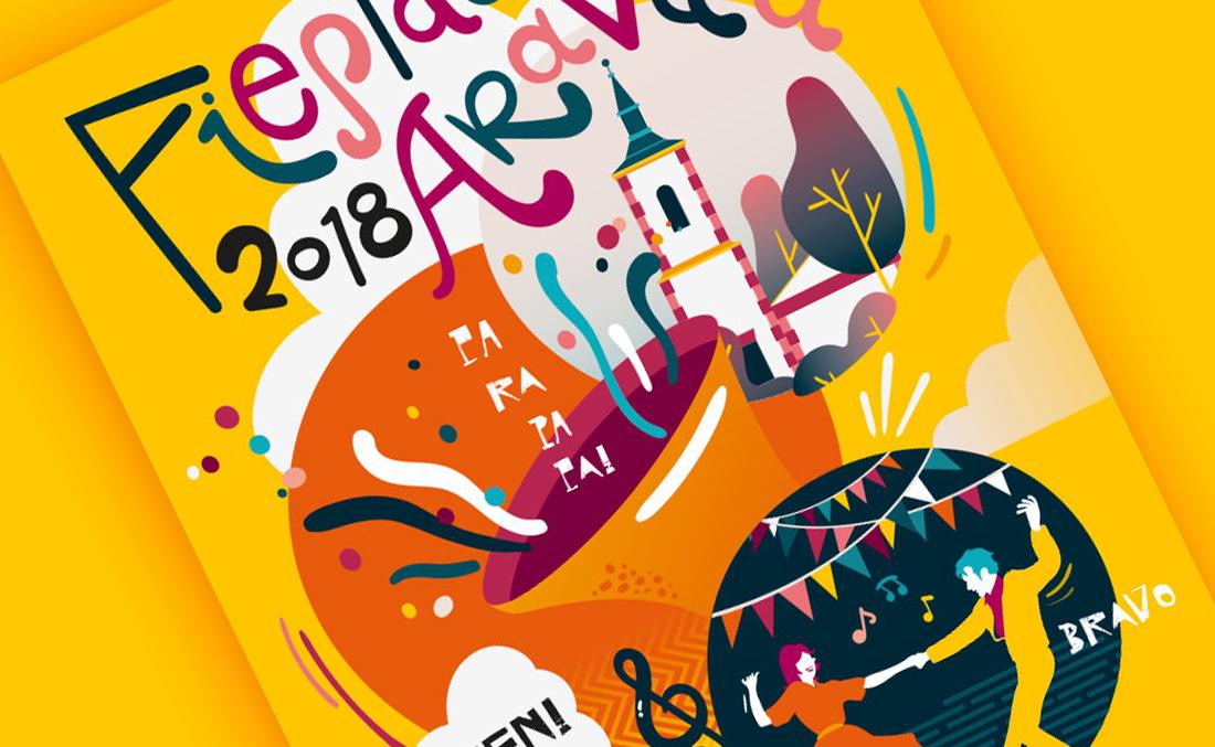Cartel Fiestas Aravaca 2018
