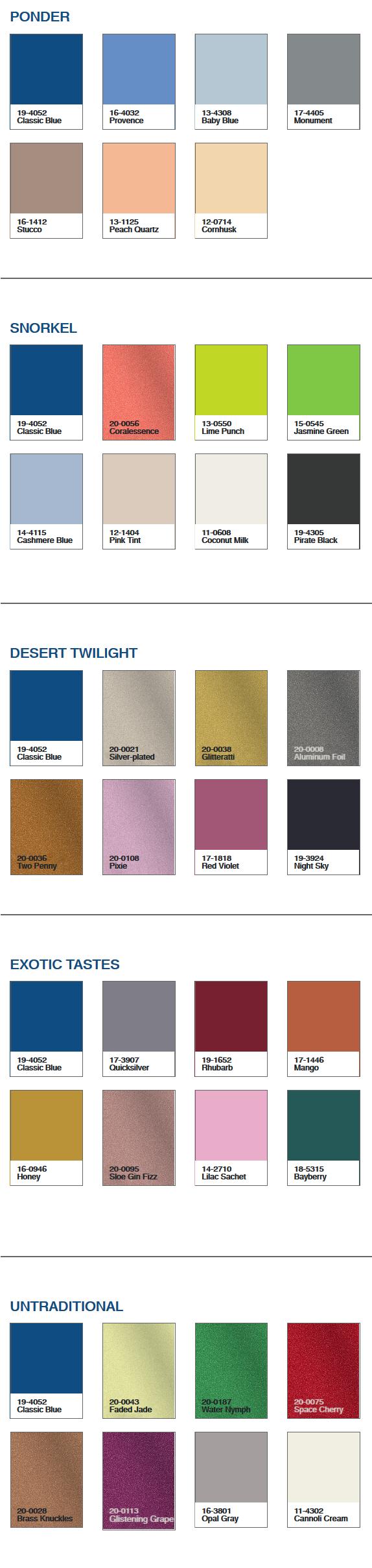 Pantone Color of the Year 2020 Paletas De Color PANTONE 19-4052 Classic Blue Pantone España